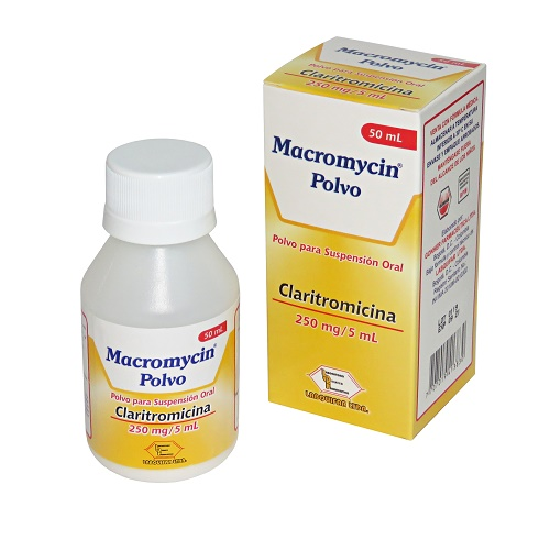 Macromycin Polvo Para Suspension 250 Mg 5 Ml